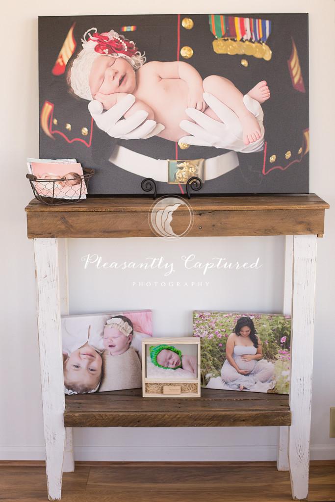 Studio Samples Newborn and maternity Photographer jacksonville NC Pleasantly Captured Photography