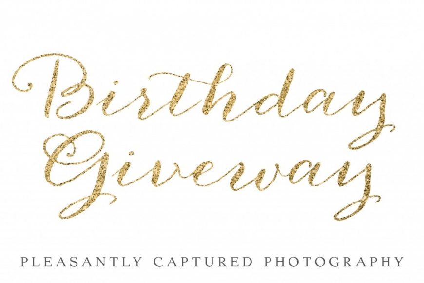 Birthday Giveaway! | Jacksonville NC Photographer